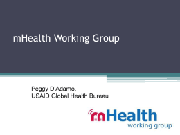mHealth Working Group listserv