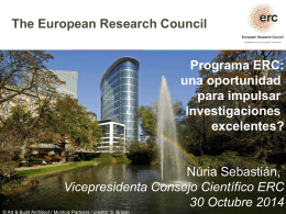 European Research Council - Universitat Pompeu Fabra