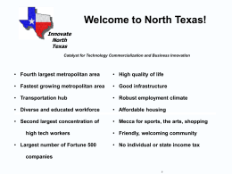 Innovate North Texas