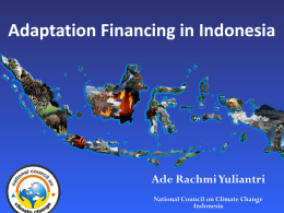 Indonesia - Asia Pacific Adaptation Network