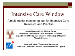 Intensive Care Window - University of Cyprus