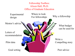 Fellowship Toolbox