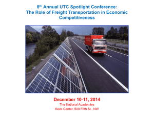 8th Annual UTC Spotlight Conference: The Role of