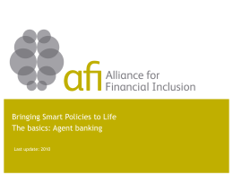 Payments - Alliance for Financial Inclusion