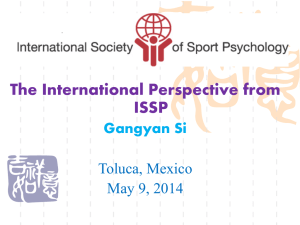 The International Perspective from ISSP