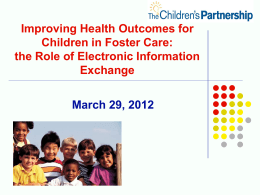 Power Point Presentation - The Children`s Partnership