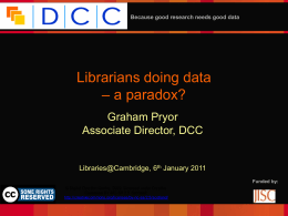 PPT - Cambridge University Library