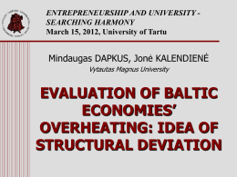 STRUCTURALLY BALANCED ECONOMIC GROWTH MODEL FOR