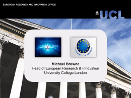 Michael Browne, University success story