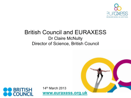 euraxess - British Council