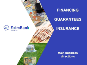 FINANCING GUARANTEES INSURANCE Main