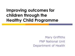 Mary Griffiths - National Children`s Bureau