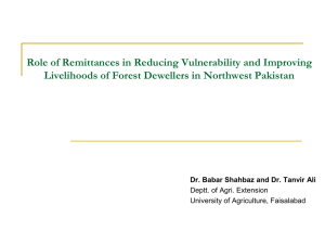 An Historical Overview of Forest Policies of Pakistan