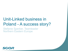 Unit Linked business in Poland - A success story? - Insur