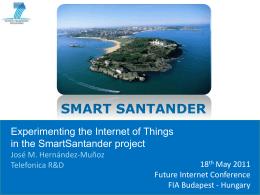 smart santander - European Future Internet Portal