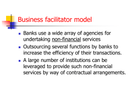 Bank Outreach Models