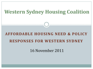 WSHC Program - Western Sydney Community Forum