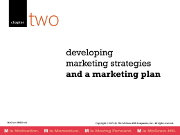 2. MKT Strategy and Planning