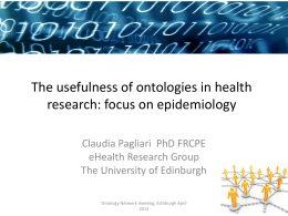 Slides - University of Edinburgh