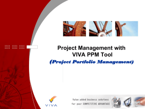 Please click here for a presentation and demo of the VIVA PPM.