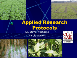 protocol-objectives - Agronomic Crops Network