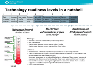 Technology readiness levels - Ideal-ist