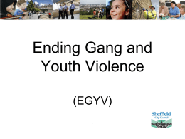 Ending Gang & Youth Violence
