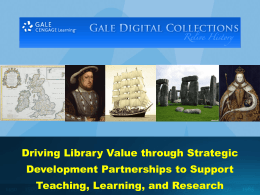 Driving Library Value through Strategic Development