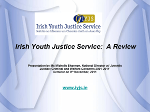 Michelle Shannon: Irish Youth Justice Service: A Review