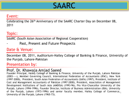 SAARC - University of the Punjab