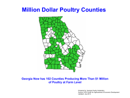 Poultry Charts - University of Georgia