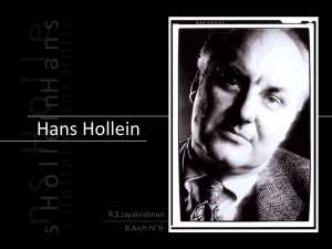 Hans Hollein - The Archi Blog
