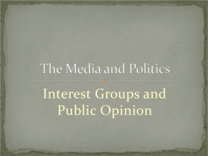 MediaInterestGroups