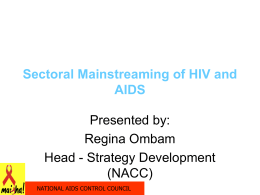 National AIDS Control Council - HIV Capacity Building Partners Summit