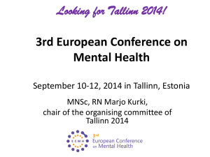 3rd European Conference on Mental Health