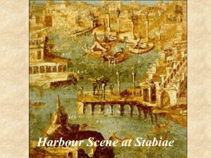 Harbour Scene at Stabiae
