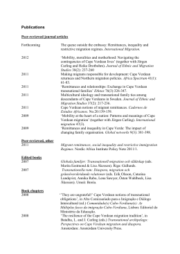 List of Publications, Lisa Åkesson