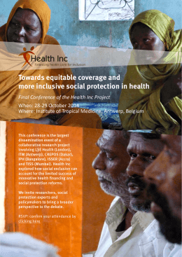 Towards equitable coverage and more inclusive social