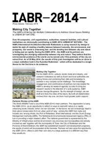 Press release Making City Together