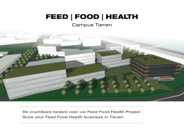 Feed Food Health campus Tienen