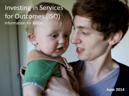 View the ISO update for providers as at June 2014
