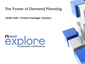 The Power of Demand Planning