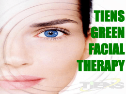 tiens green facial therapy green facial therapy(gft)