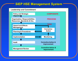 SIEP HSE-MS Expectations