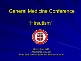 General Medicine Conference Texas Tech University Health