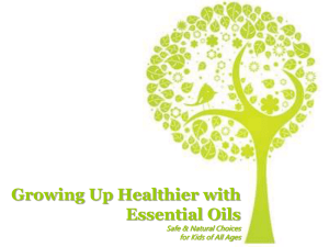Mommy & Me with Essential Oils Natural Choices for the Whole Family