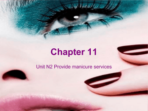 manicure powerpoint