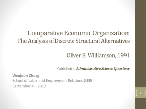 Administrative Science Quarterly Wonjoon Chung