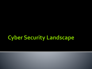 """Current Cyber Security Landscape"" Dr. Josh Pauli Presentation"