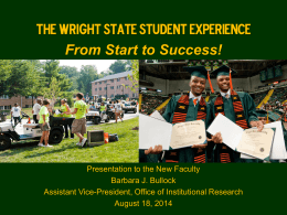 PowerPoint format - Wright State University